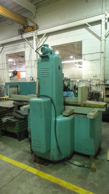 Tos Surface Grinder, Machine ID:4165