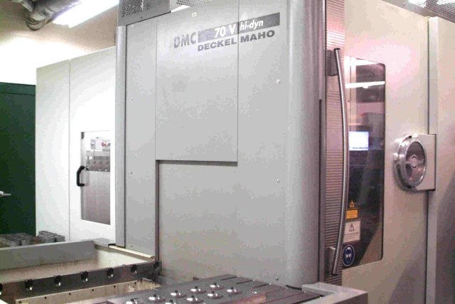 Deckel-Maho DMC-70V Hi-Dyn, Machine ID: 4283