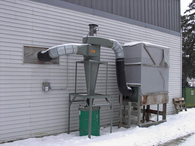 Dust Kop 20SN51D1 Cyclone Dust Collector, Machine ID: 4360