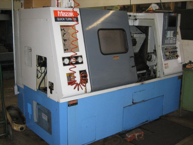 Mazak Quick Turn 250, Machine ID: 4404