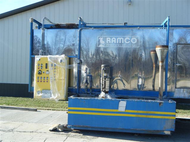 Remco Parts Washing Line, Machine ID: 4444