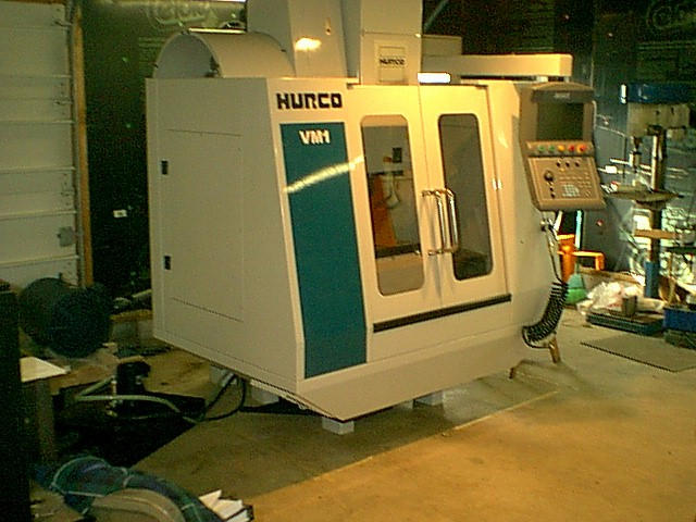 Hurco VM1, Machine ID: 4481