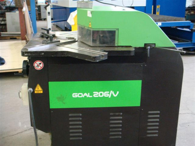 FIM GOAL 206 Variable Angle Notcher, Machine ID: 4573
