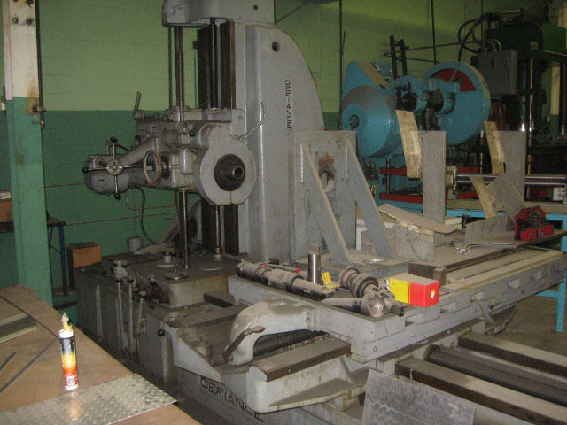Defiance Horizontal Boring Mill, Machine ID: 4606