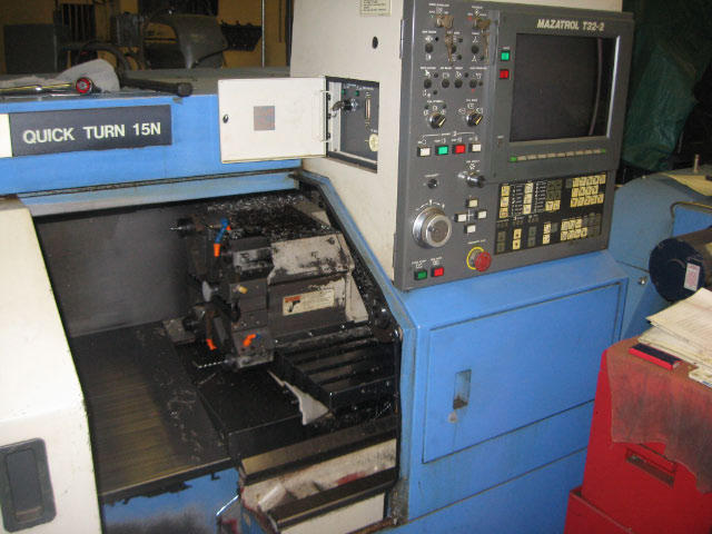 Mazak Quick Turn 15N, Machine ID: 4612
