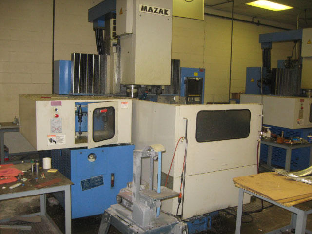 Mazak VQC-20/40B, Machine ID: 4614