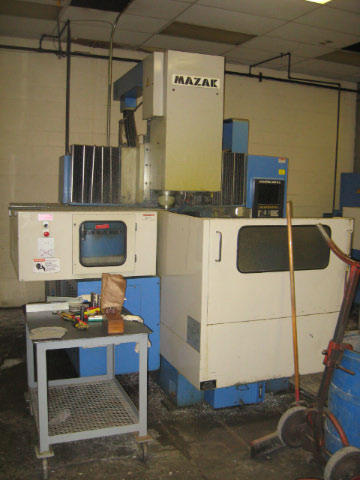 Mazak VQC-20/40B, Machine ID: 4615