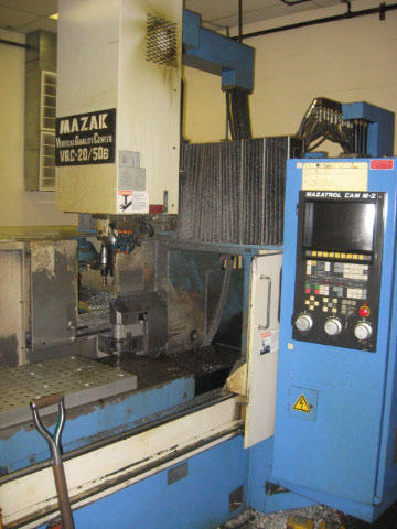 Mazak VQC-20/50B, Machine ID: 4616