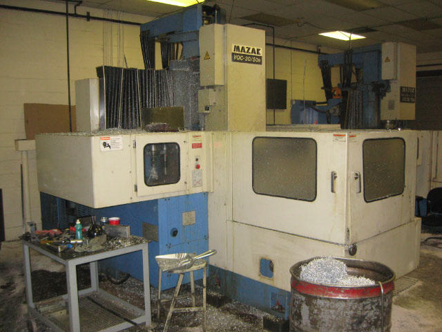 Mazak VQC-30/50B, Machine ID: 4618