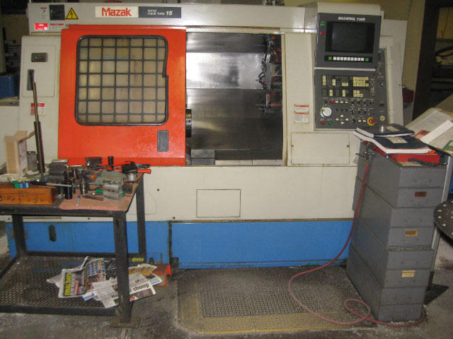 Mazak Super Quick Turn-15, Machine ID: 4622