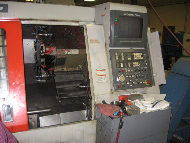 Mazak Super Quick Turn-15M, Machine ID: 4623