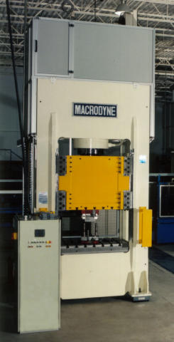 Macrodyne MP-300 3-Station Transfer Press, Machine ID: 4631