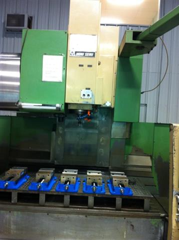 Mori-Seiki MV-65B, Machine:4650, image:3