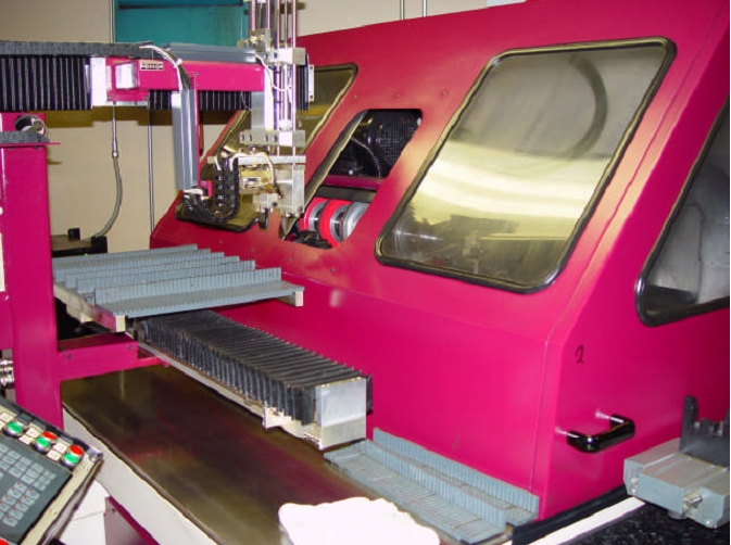 Machine 4684, Tigra 1500 5-Axis Carbide Profile Grinder, 2000, Rebuilt by Tigra in 2005