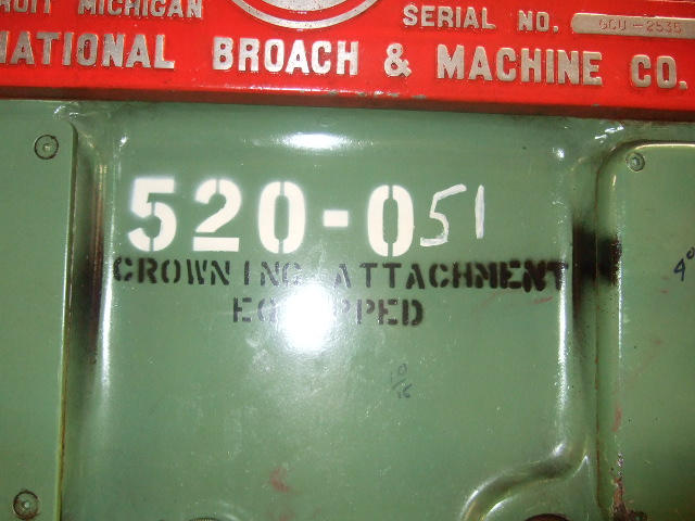 National Broach Red Ring Gear Shaver, Machine:4734, image:1