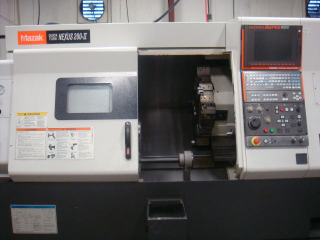 Mazak Quick Turn Nexus 200-II (QTN 200-II), Machine ID: 4781
