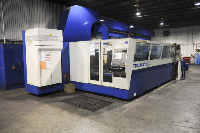 Trumpf Trumatic L4030, Machine ID: 4793