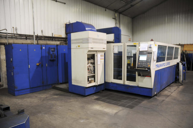 Trumpf Trumatic L3050, Machine ID: 4801