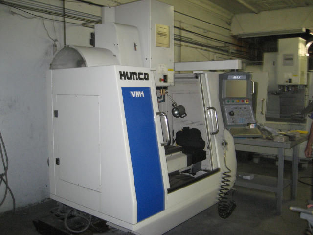 Hurco VM1, Machine ID: 4803