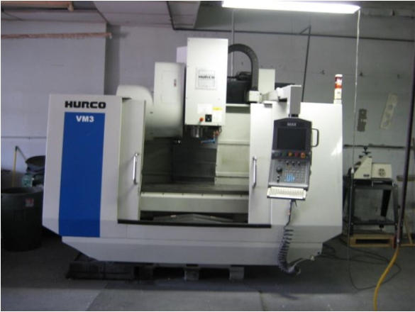 Hurco VM3, Machine ID: 4804