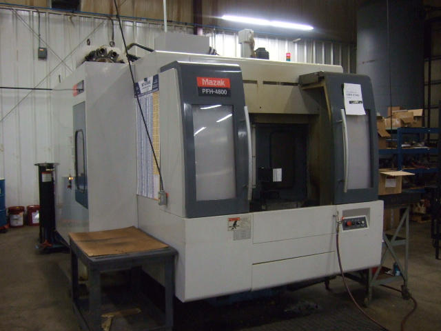 Mazak PFH-4800, Machine ID: 4824