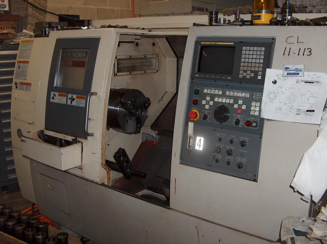 Okuma & Howa HL-35, Machine ID: 4972