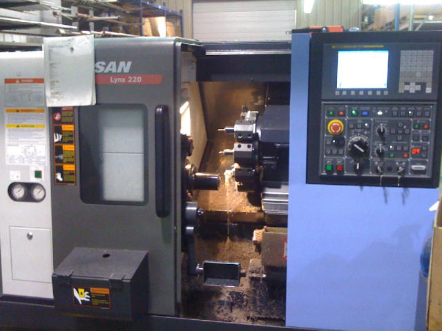Doosan Lynx 220A, Machine ID: 4974