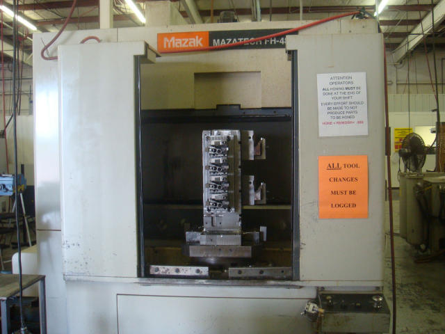 Mazak FH480, Machine ID: 4997