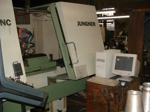 Junger US-460 5-Axis Tool & Cutter Grinder, Machine ID: 5067