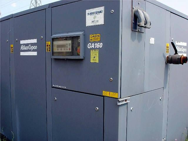 Atlas-Copco GA-160, Machine ID: 5069