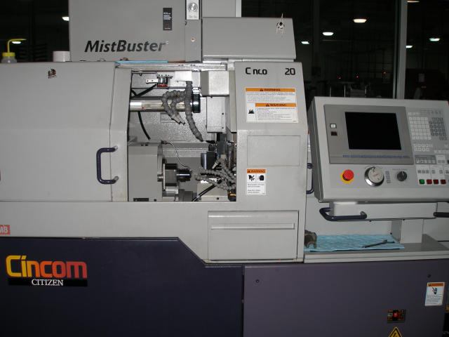 Citizen Cincom A16 VI CNC Swiss Lathe, Machine ID: 5083