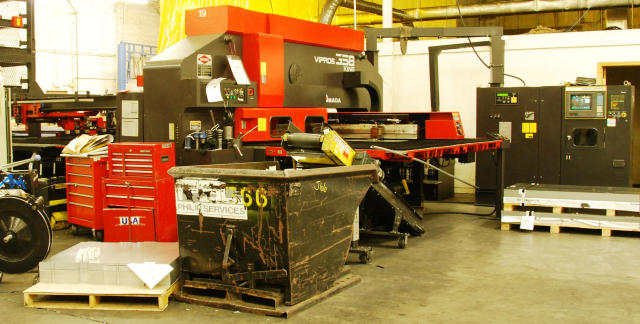 Superior Machinery :: Amada Vipros 358 King CNC Turret Punch