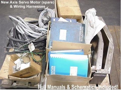 Superior Machinery :: Cincinnati Maxim 500 CNC Horizontal Machining on