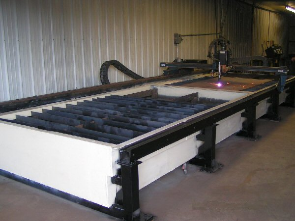 MG Industries SM1006 CNC Plasma Cutter, Machine ID:5150
