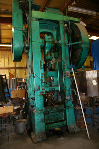 Bliss No. 308 SSSC Forging Press, Machine ID: 5200