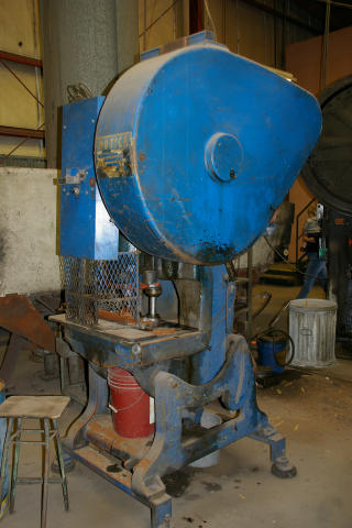 VKV 30 Ton OBI Punch Press, Machine ID: 5204