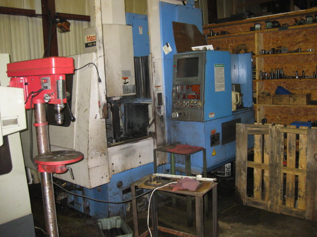 Mazak VQC-15/40, Machine ID:5232