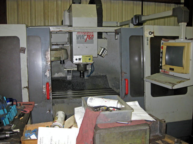 Bridgeport VMC-760, Machine ID:5233