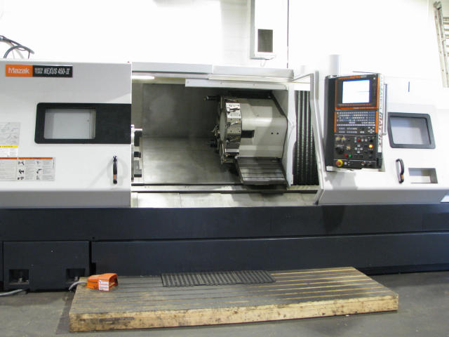 Mazak Quick Turn Nexus 450-II, Machine ID: 5239