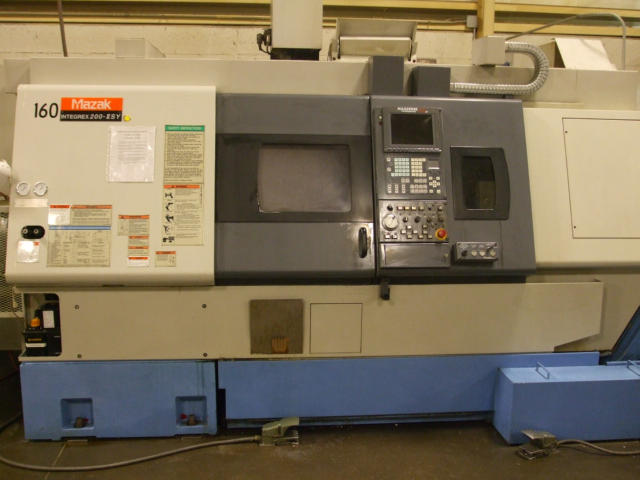 Mazak Integrex 200-II SY, Machine ID: 5245