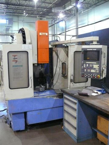Mazak MTV-414, Machine ID: 5247