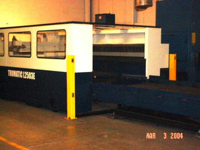 Trumpf Trumatic L2503E, Machine ID: 5270