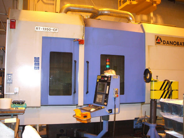 Machine 5341, Danobat RT-1350-CF CNC Creep Feed Grinder, 2003, Fanuc 160i-M Control