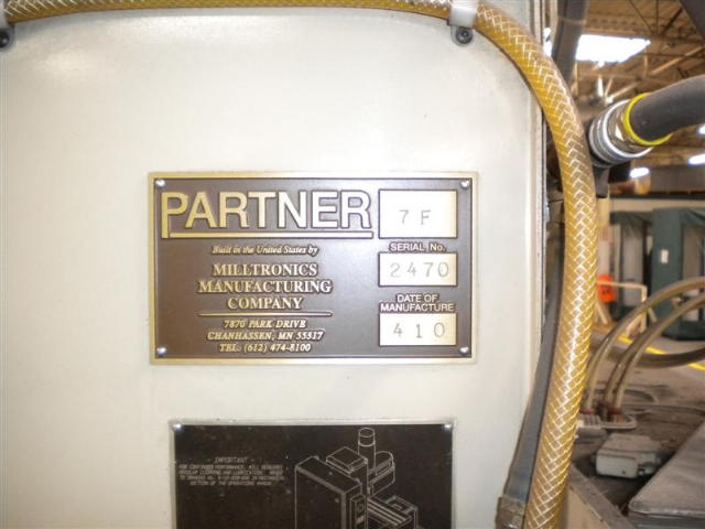 Milltronics Partner 7F, Machine ID: 5429