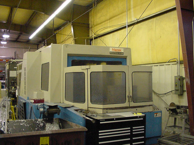 Mazak H-630, Machine ID: 5433
