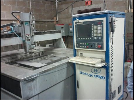 Flow International WaterjetPRO 1313, Machine ID: 5436