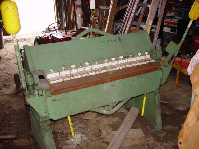 Superior Machinery Chicago 414 6 Box Amp Pan Finger Brake Jpg