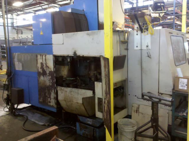 Mazak AJV-25/405, Machine ID: 5612