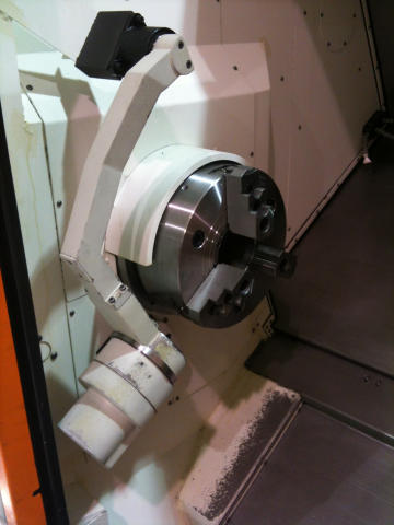 Mazak Quick Turn Nexus 350MY-II, Machine ID: 5647