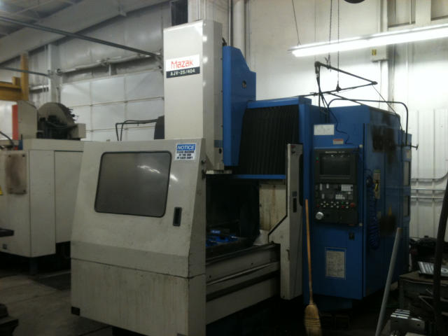 Mazak AJV-25/404, Machine ID: 5664